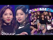 《ADORABLE》 TWICE(트와이스) - LIKEY @인기가요 Inkigayo 20171112