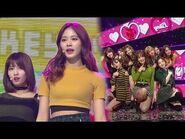 《ADORABLE》 TWICE(트와이스) - LIKEY @인기가요 Inkigayo 20171119