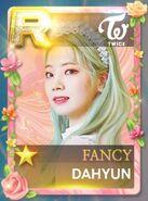 Dahyun SuperStar JYPNation Fancy LE R Card