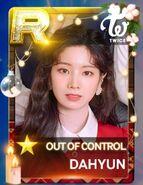 Dahyun SuperStar JYPNation OutOfControl LE R Card