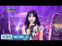 TWICE (트와이스) - Touchdown - Cheer Up -Music Bank COMEBACK - 2016.04