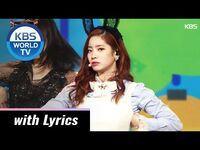 TWICE(트와이스) - CHEER UP + TT -The 2016 KBS Song Festival - ENG - 2016.12
