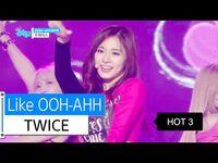 -HOT- TWICE - Like OOH-AHH, 트와이스 - OOH-AHH하게, Show Music core 20160109