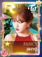 Jihyo SuperStar JYPNation Fancy LE R Card