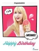 Birthday Momo 2015