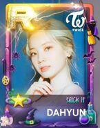 Dahyun SuperStar JYPNation TrickIt LE R Card