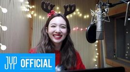 NAYEON Tell me (Santa Tell Me cover behind)