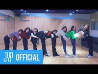 """TWICE """"Heart Shaker"""" Dance Video (Practice Room Ver"""