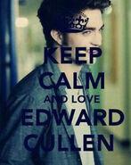 Keep calm and love edward cullen