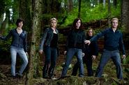 Alice, Rosalie, Esmée, Jasper et Carliste