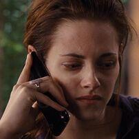 Bella on the phone