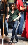 Kristen Stewart - Set of New Moon