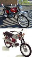 Bella's motorcycle