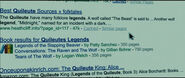 Livres Légendes Quileute