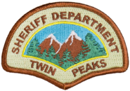 Twin Peaks Sheriff's Department Badge Patch