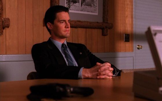 Agent Cooper on West Wallaby Street