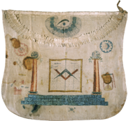 True Meriwether Lewis' Masonic apron