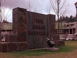 Great Northern Hotel (sign)