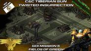 Twisted Insurrection - GDI Mission 5 Fields of Green Tiberian Sun