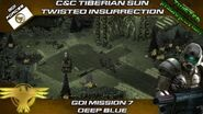 Twisted Insurrection - GDI Mission 7 Deep Blue Tiberian Sun