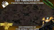 Twisted Insurrection - GDI Mission 12 The Great Escape Tiberian Sun