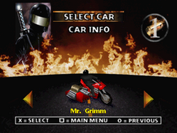 Twisted Metal 2 - Mr. Grimm