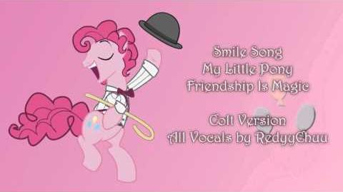 Smile Song - My Little Pony Friendship is Magic Colt Version cover