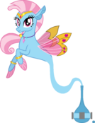 Wishgriff Seapony Redesign Genie-Tailed (Left View)