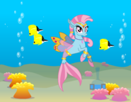 Wishgriff Seapony with Background
