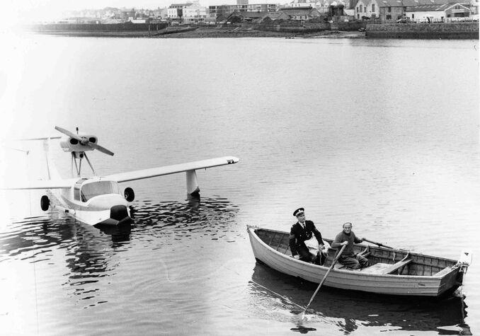 Rowing from plane stranraer.JPG