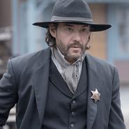 Sheriff re-enactor
