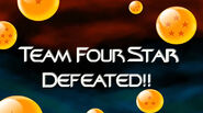 Four Star Defeat Xenoverse