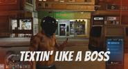 Sleeeping Dogs Textin Like A Boss