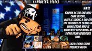 Character Select Matt