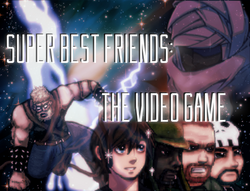 The title art used in the start screen, revealed shortly before the release of the prologue.