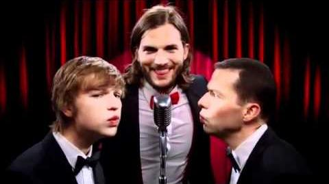 New Two and a Half Men intro Manly Men Ashton Kutcher 2011 (HD)