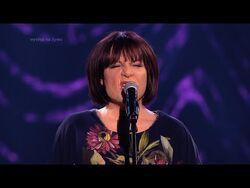 Magdalena Narożna jako Grażyna Łobaszewska - Twoja Twarz Brzmi Znajomo