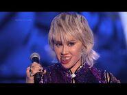 Maja Hyży jako Miley Cyrus - Twoja Twarz Brzmi Znajomo