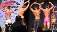 韓國肌肉猛男健身比賽