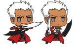 Chibi archer fight stace