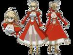 Red Saber Carnival Phantasm character sheet
