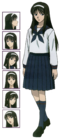 Akiha Tsukihime Anime character sheet