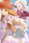 PRISMA Shirou, Illyasviel and Irisviel Takeuchi Takashi