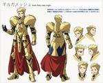 Hoja de Personaje de Gilgamesh Carnival Phantasm