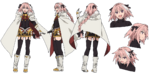 Rider of Black A-1 Pictures Fate Apocrypha Character Sheet1