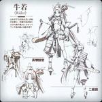 A1 character sheet Ushiwakamaru