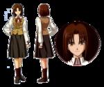 Ayako studio deen character sheet