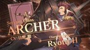 Fate Grand Order 4週連続・全8種クラス別TV-CM 第5弾 アーチャー編