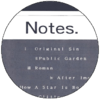 Category:Notes