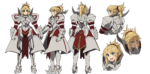 Saber of Red A-1 Pictures Fate Apocrypha Character Sheet1